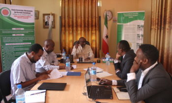 SMEF signs a Memorandum of Understanding (MOU) with Somaliland Chamber of Commerce, industry and agriculture (SCCIA).